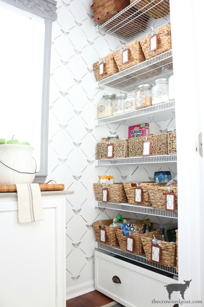 The-Easiest-Way-To-Organize-the-Pantry-and-Refrigerator-The-Crowned-Goat-15 The Easiest Way to Organize Your Pantry & Refrigerator DIY Organization