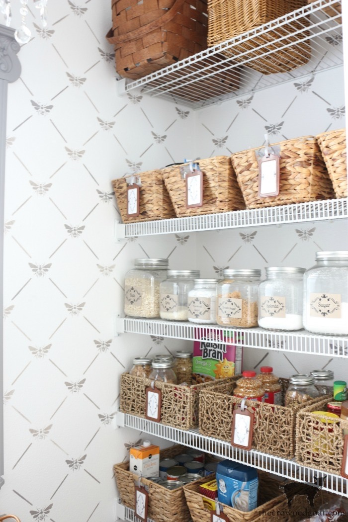 The-Easiest-Way-To-Organize-the-Pantry-and-Refrigerator-The-Crowned-Goat-16 The Easiest Way to Organize Your Pantry & Refrigerator DIY Organization