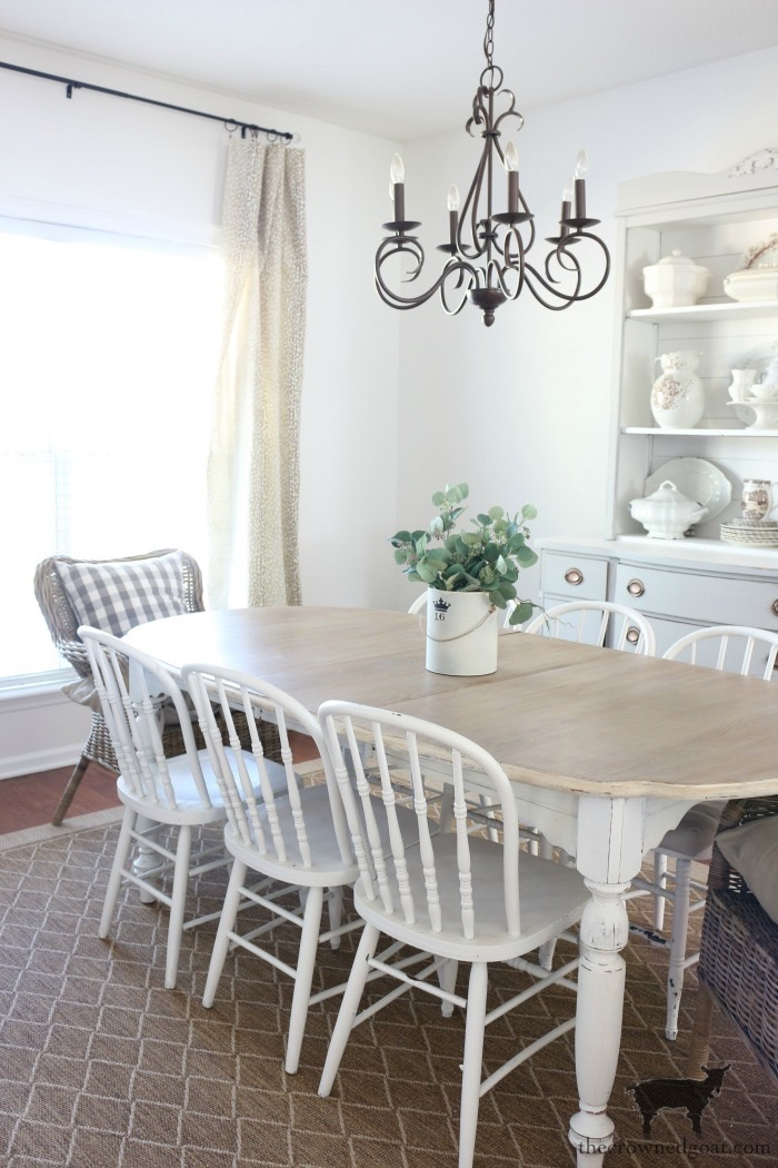 Dark-Wax-Dining-Room-Table-Five-Years-Later-The-Crowned-Goat-14 How to Condition a DIY European Oak Dining Table Decorating DIY