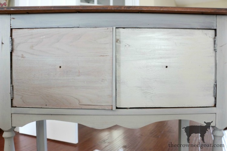 Dining-Room-Buffet-Makeover-The-Crowned-Goat-2 Dining Room Buffet Makeover Decorating DIY Painted Furniture