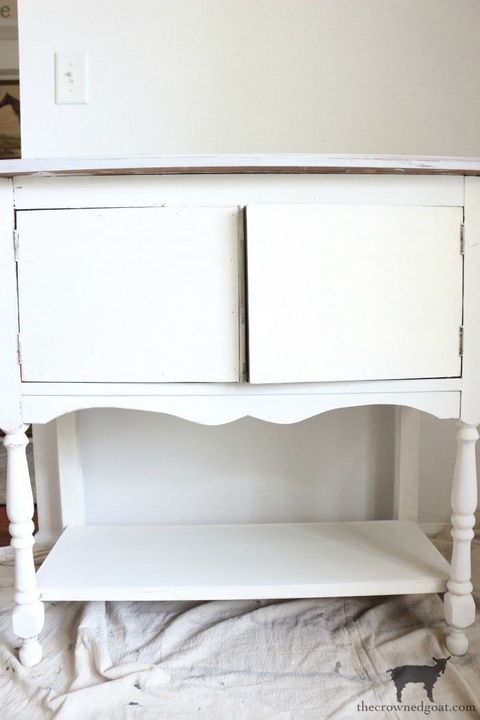 Dining-Room-Buffet-Makeover-The-Crowned-Goat-20 Dining Room Buffet Makeover Decorating DIY Painted Furniture