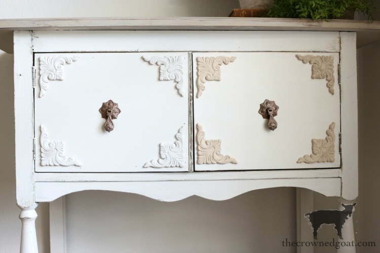 Dining-Room-Buffet-Makeover-The-Crowned-Goat-25 Dining Room Buffet Makeover Decorating DIY Painted Furniture