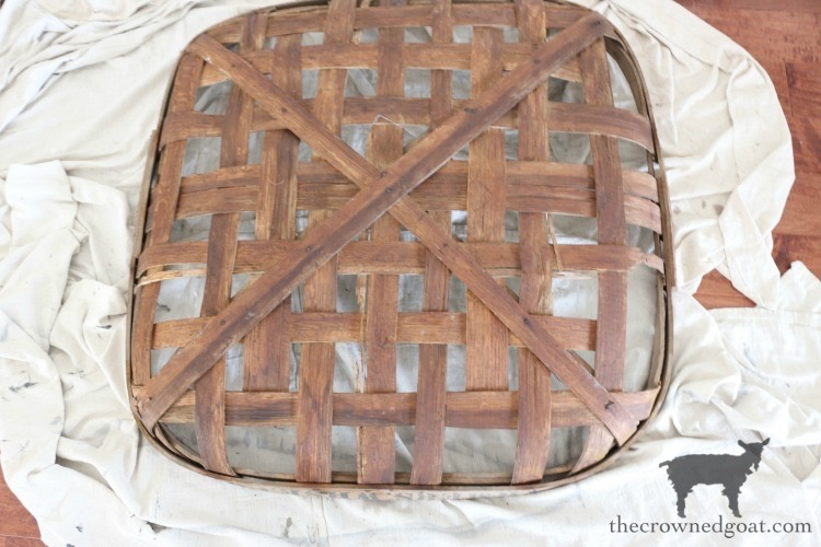 How-to-Revitalize-an-Old-Tobacco-Basket-The-Crowned-Goat-11 The Easiest Way to Revitalize an Old Tobacco Basket Decorating DIY