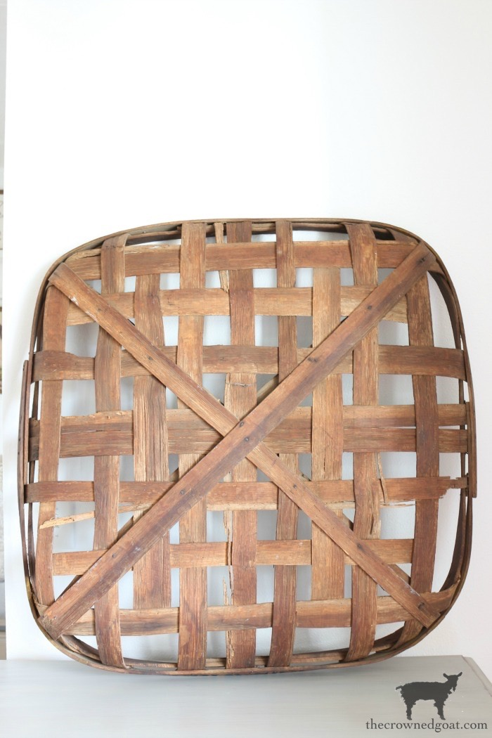 How-to-Revitalize-an-Old-Tobacco-Basket-The-Crowned-Goat-12 The Easiest Way to Revitalize an Old Tobacco Basket Decorating DIY