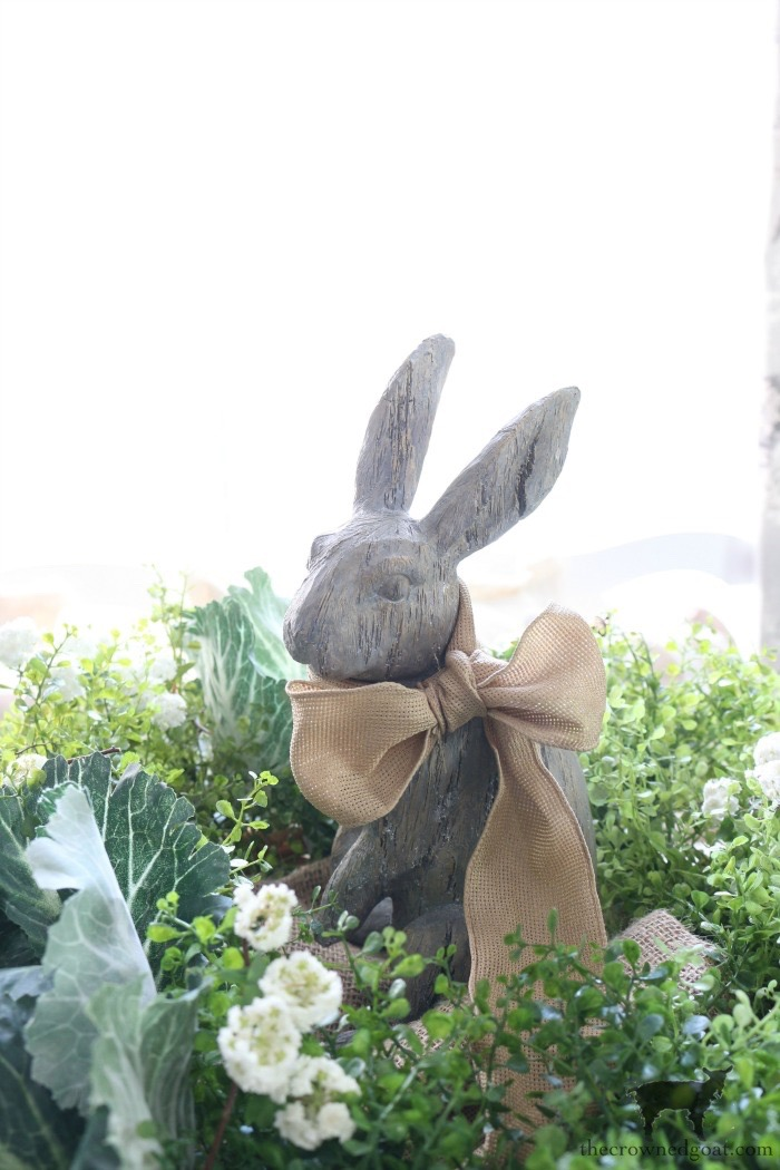 Bunny-Tablescape-The-Crowned-Goat-4 Spring Bunny Tablescape Decorating DIY Holidays Spring