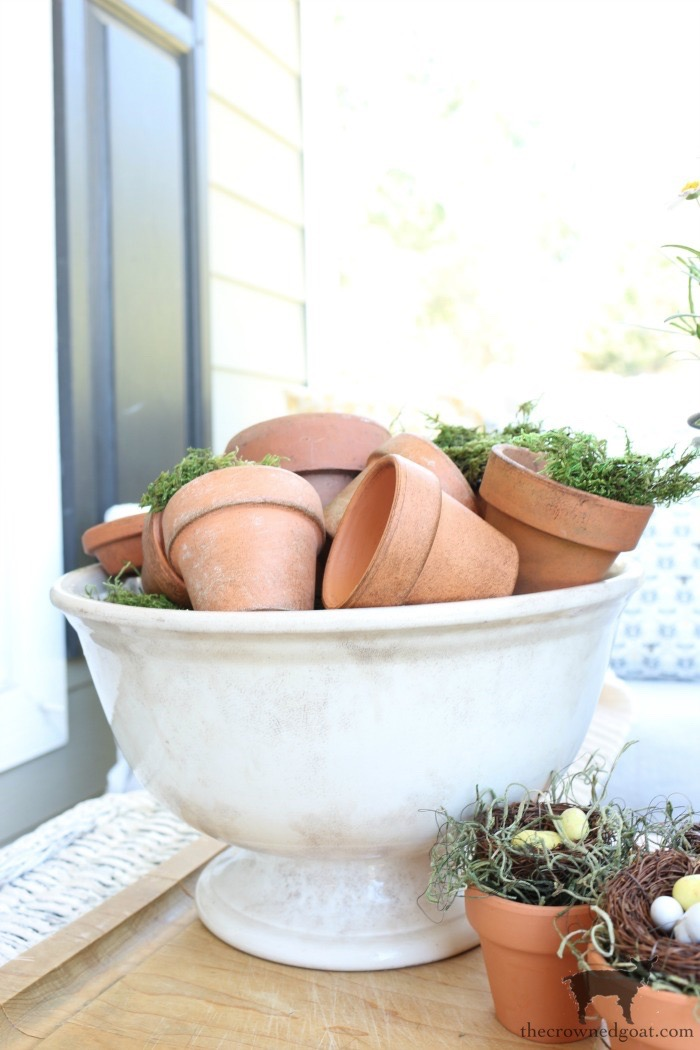 DIY-Birds-Nest-in-Clay-Pot-The-Crowned-Goat-14 DIY Bird's Nest Decorating DIY Holidays Spring