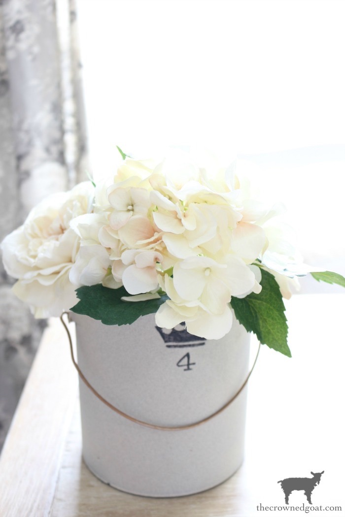 How-to-Make-a-Simple-Spring-Centerpiece-The-Crowned-Goat-6 How to Make a Simple Spring Centerpiece Decorating DIY Holidays Spring