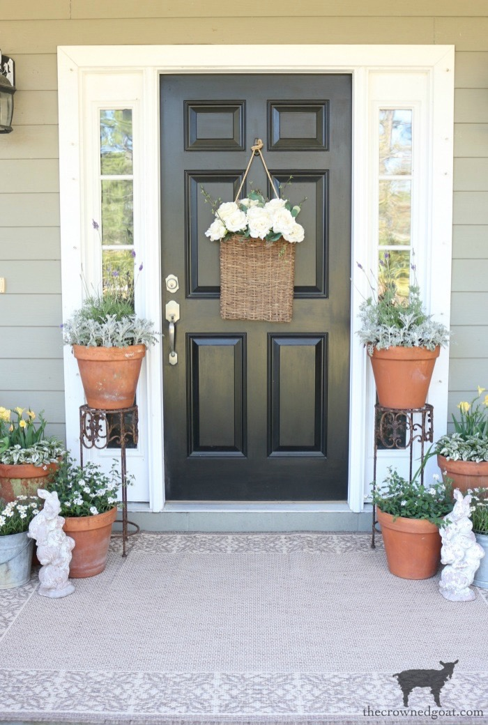 Spring-Front-Porch-Ideas-and-Blog-Hop-The-Crowned-Goat-11 Spring Front Porch Inspiration & Blog Hop Decorating DIY Holidays Spring