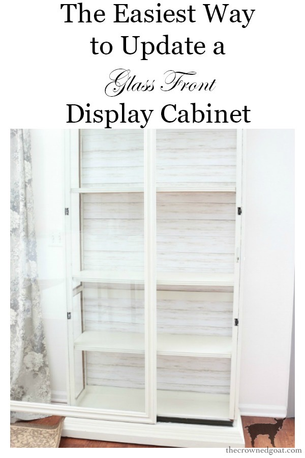 The-Easiest-Way-to-Update-a-Display-Cabinet-The-Crowned-Goat-16 The Easiest Way to Update a Display Cabinet DIY Painted Furniture