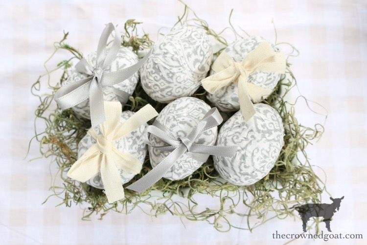 Decoupage-Easter-Eggs-The-Crowned-Goat-13 How to Decoupage Easter Eggs Decorating Holidays Spring