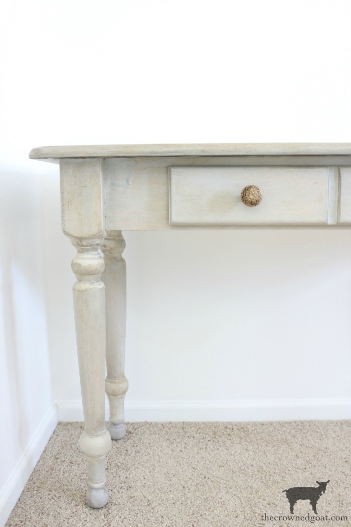 French-Country-Desk-Makeover-The-Crowned-Goat-17 French Country Desk Makeover Decorating DIY One_Room_Challenge Painted Furniture