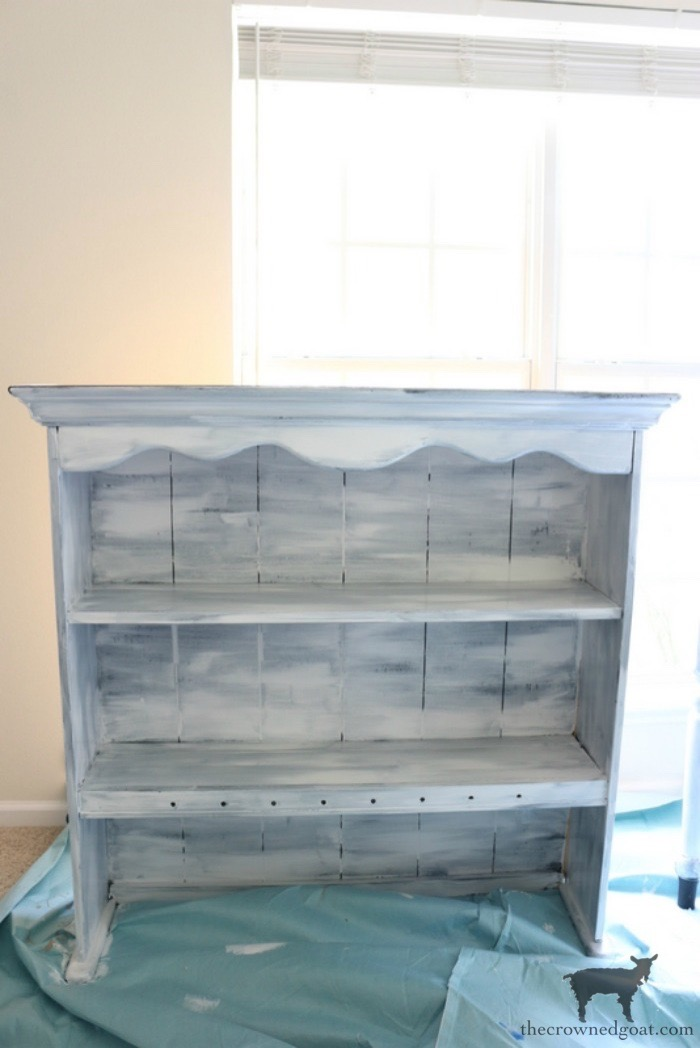 French-Country-Desk-Makeover-The-Crowned-Goat-3 French Country Desk Makeover Decorating DIY One_Room_Challenge Painted Furniture