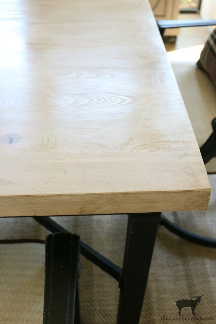 How-to-Make-an-Outdoor-Dining-Table-The-Crowned-Goat-14 Bliss Barracks Lanai Makeover: Outdoor Dining Table Bliss Barracks Decorating DIY