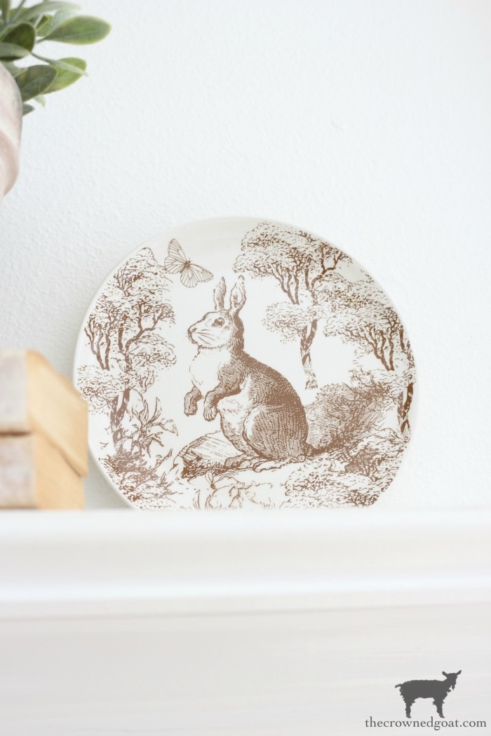 Spring-Mantel-Decorating-The-Crowned-Goat-11 Spring Mantel Décor Decorating Holidays Spring