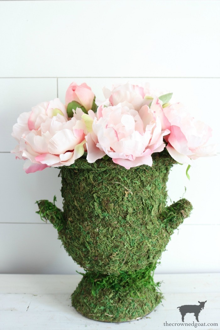 DIY-Moss-Covered-Urn-The-Crowned-Goat-13 DIY Moss Covered Urn & Spring Tea Party Hop Decorating DIY Spring