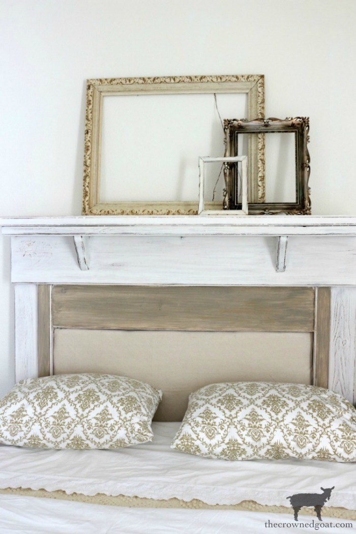French-Country-Headboard-Makeover-The-Crowned-Goat-3 French Country Headboard Makeover Decorating DIY