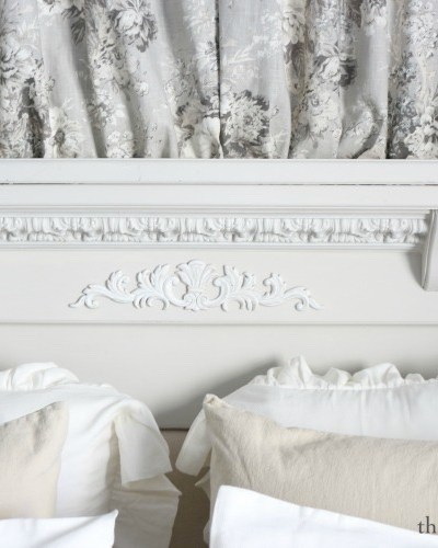 French Country Headboard Makeover