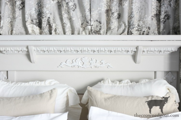 French-Country-Headboard-Makeover-The-Crowned-Goat-9 French Country Headboard Makeover Decorating DIY