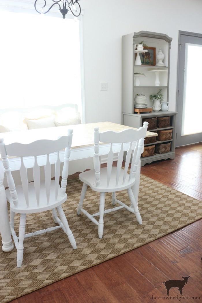 Breakfast-Nook-Makeover-Plans-The-Crowned-Goat-7 Breakfast Nook Refresh Plans Decorating DIY