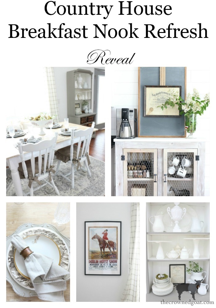 Breakfast-Nook-Refresh-Reveal-The-Crowned-Goat-26 Breakfast Nook Refresh Reveal Decorating DIY