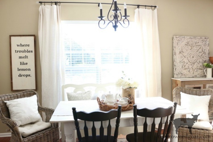 Breakfast-Nook-Refresh-Reveal-The-Crowned-Goat-3 Breakfast Nook Refresh Reveal Decorating DIY