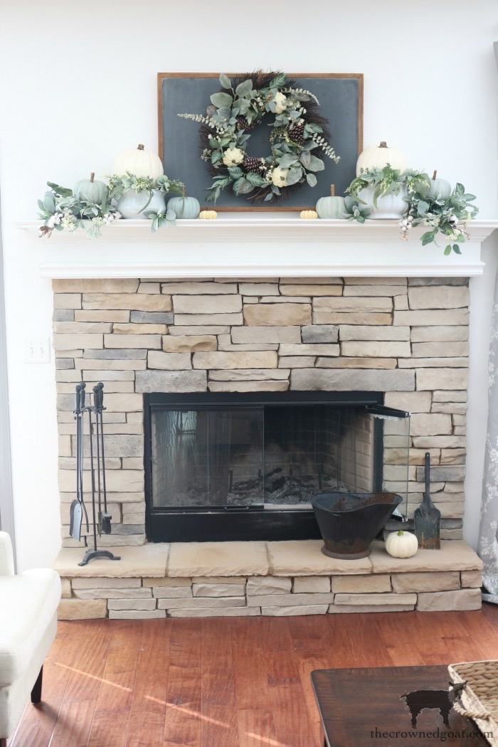 Creating-an-Easy-Fall-Mantel-The-Crowned-Goat-7 5 Steps to Creating an Easy Fall Mantel Fall