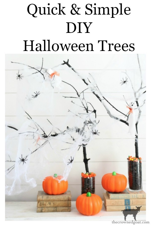 DIY-Halloween-Tree-The-Crowned-Goat-18 DIY Halloween Trees Crafts Fall Holidays