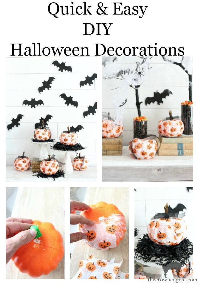 Easy-DIY-Halloween-Decorations-The-Crowned-Goat-16 Easy DIY Halloween Decorations Crafts Fall Holidays