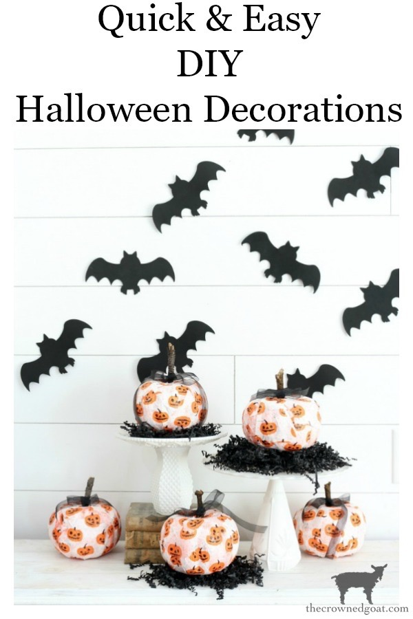 Easy-DIY-Halloween-Decorations-The-Crowned-Goat-17 Easy DIY Halloween Decorations Crafts Fall Holidays