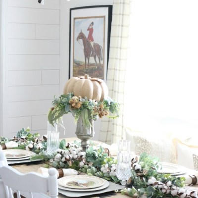 Easy Fall Tablescape Ideas
