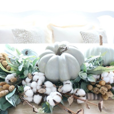 DIY Greenery Table Runner
