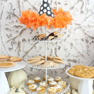Fast and Easy Halloween Treat Station