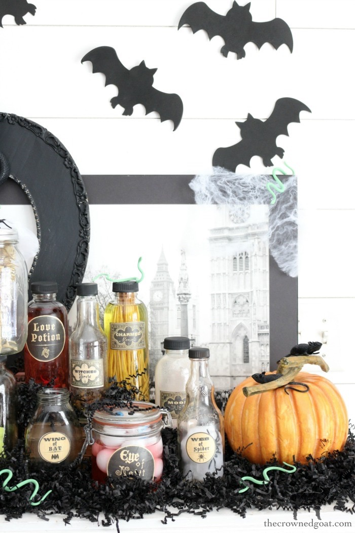 How-to-Create-a-Spooky-Curiosity-Cabinet-for-Halloween-The-Crowned-Goat-15 How to Create a Spooky Curiosity Cabinet Crafts Fall Holidays