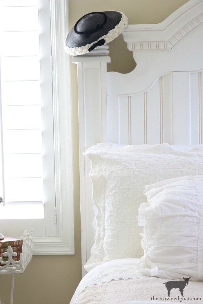 Blue-and-White-Guest-Bedroom-Refresh-The-Crowned-Goat-1 Blue and White Guest Bedroom Refresh Bliss Barracks Decorating DIY