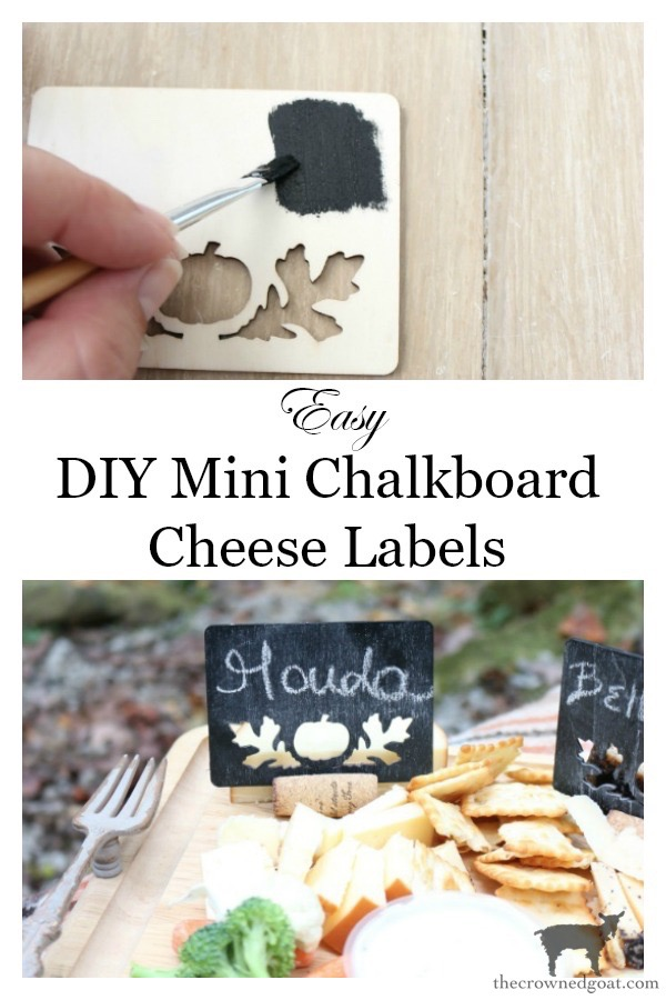 DIY-Mini-Chalkboard-Cheese-Labels-The-Crowned-Goat-15 Easy DIY Mini Chalkboard Cheese Labels Crafts DIY Fall Holidays