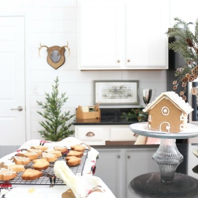 Soft and Romantic Farmhouse Christmas Home Tour