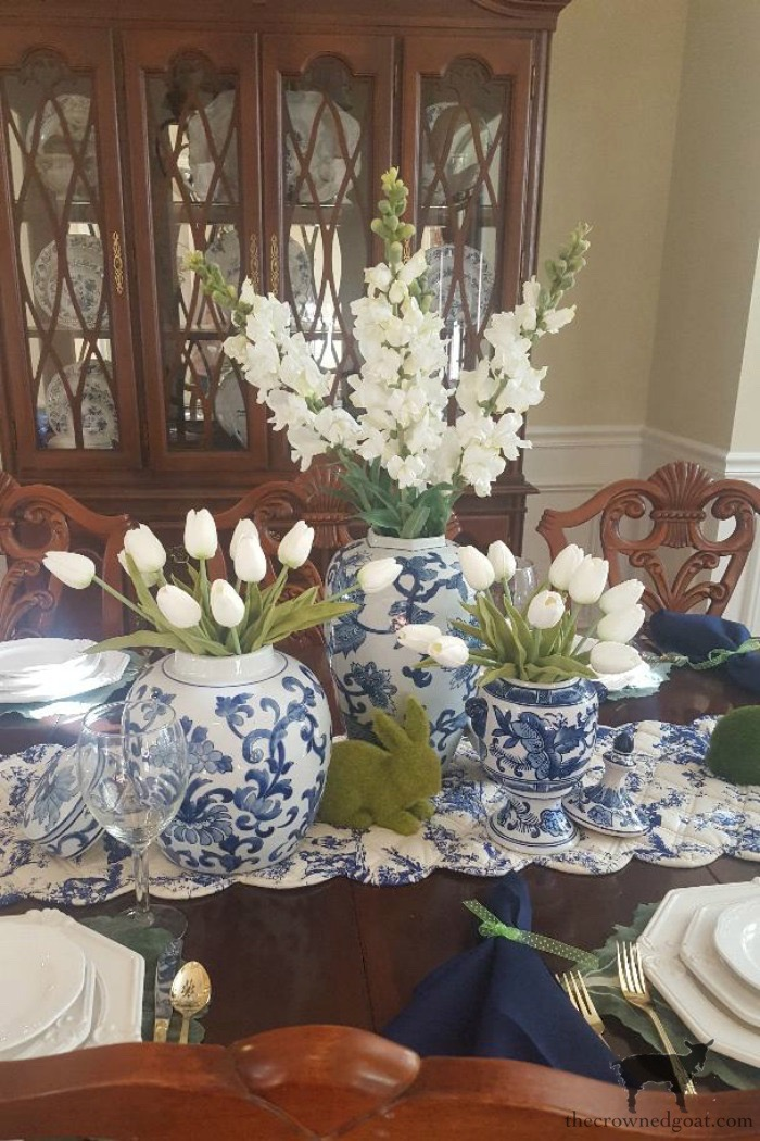 Blue-and-White-Easter-Tablescape-The-Crowned-Goat-1 From the Front Porch From the Front Porch
