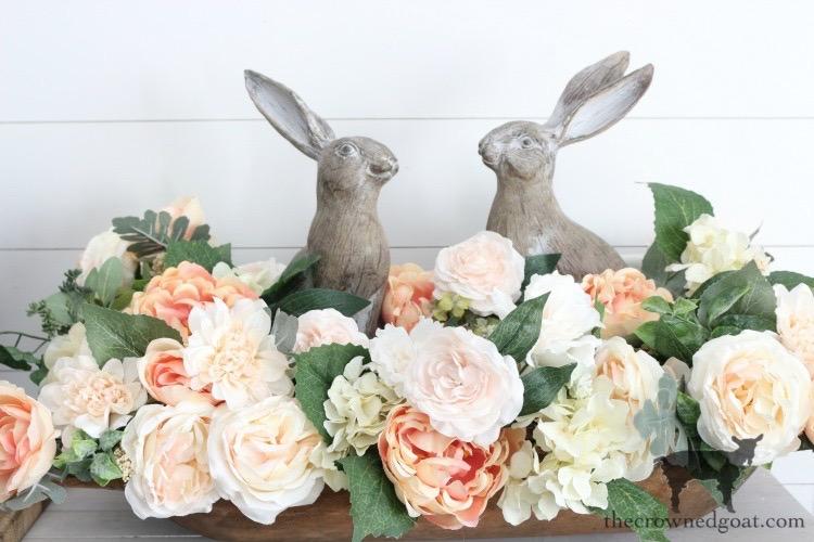 Simple-Spring-Dough-Bowl-Centerpiece-The-Crowned-Goat-16 Simple Spring Dough Bowl Centerpiece Holidays Spring