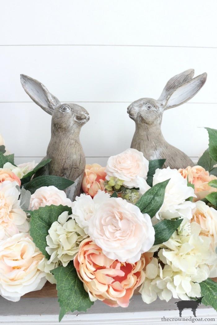 Simple-Spring-Dough-Bowl-Centerpiece-The-Crowned-Goat-5 Simple Spring Dough Bowl Centerpiece Holidays Spring