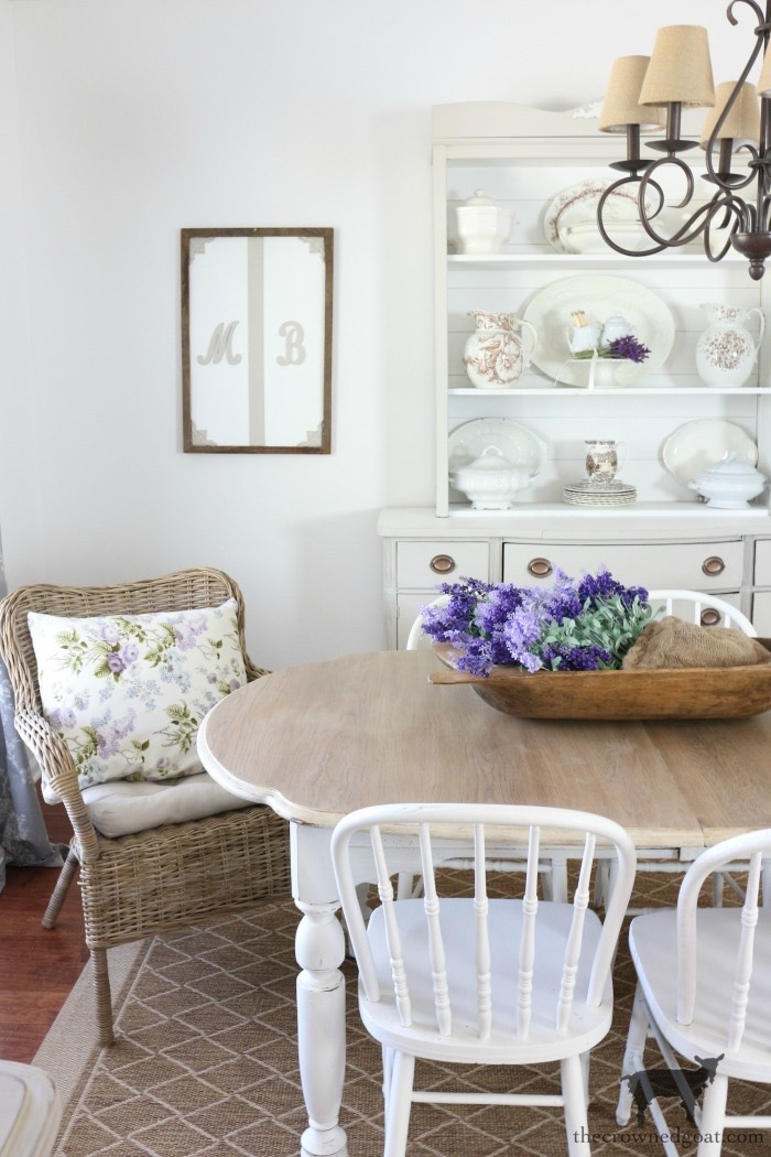 Summer-Entry-Dining-Room-The-Crowned-Goat-5 Cottage Inspired Summer Entry & Dining Room Decorating DIY Holidays Summer