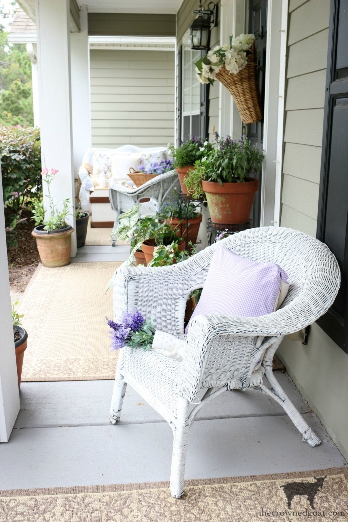 Summer-Porch-Tour-The-Crowned-Goat-7 Cottage Inspired Summer Porch Tour Decorating DIY Summer