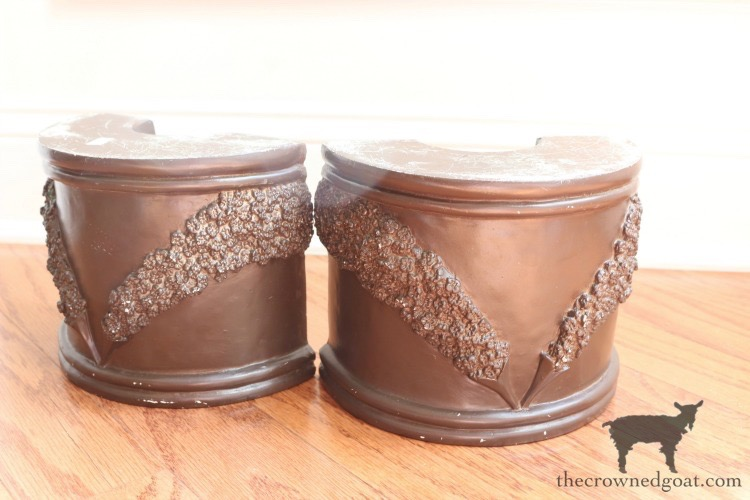 DIY-French-County-Bookends-The-Crowned-Goat-6 DIY French Country Bookends Decorating DIY Painted Furniture