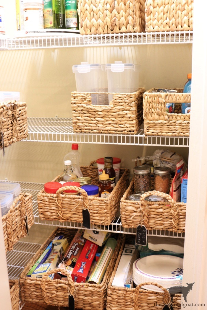 Tips-for-Organizing-a-Small-Pantry-The-Crowned-Goat-10 5 Tips for Organizing a Small Pantry Bliss Barracks Organization