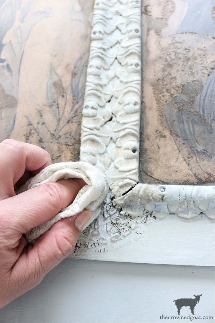 DIY-French-Country-Mantel-Art-The-Crowned-Goat-10 DIY French Country Mantel Art Decorating DIY Painted Furniture