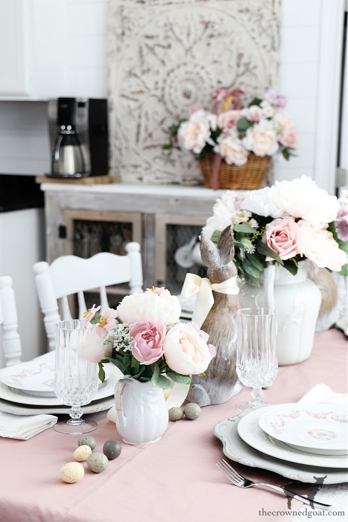 Easy-Spring-Tablescape-Ideas-The-Crowned-Goat-10 Easy Spring Tablescape Ideas Holidays Spring