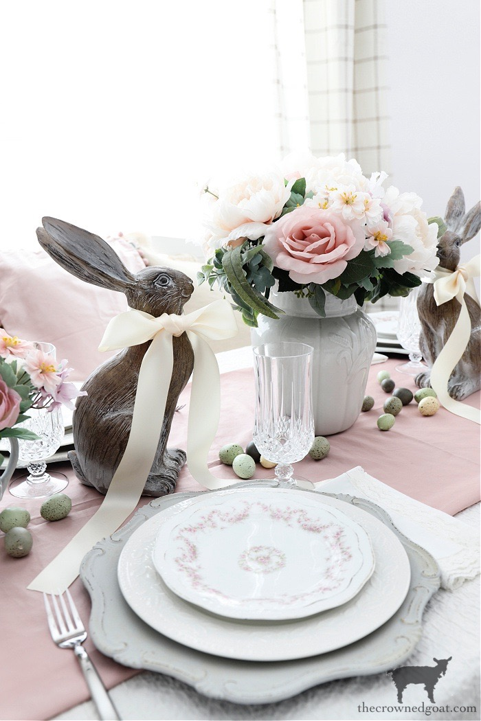 Easy-Spring-Tablescape-Ideas-The-Crowned-Goat-9 Easy Spring Tablescape Ideas Holidays Spring