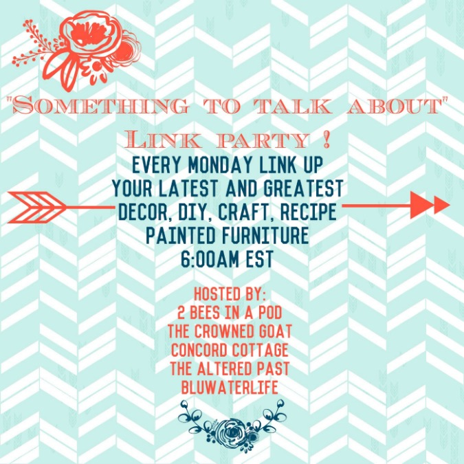 Something to Talk About Link Party #1