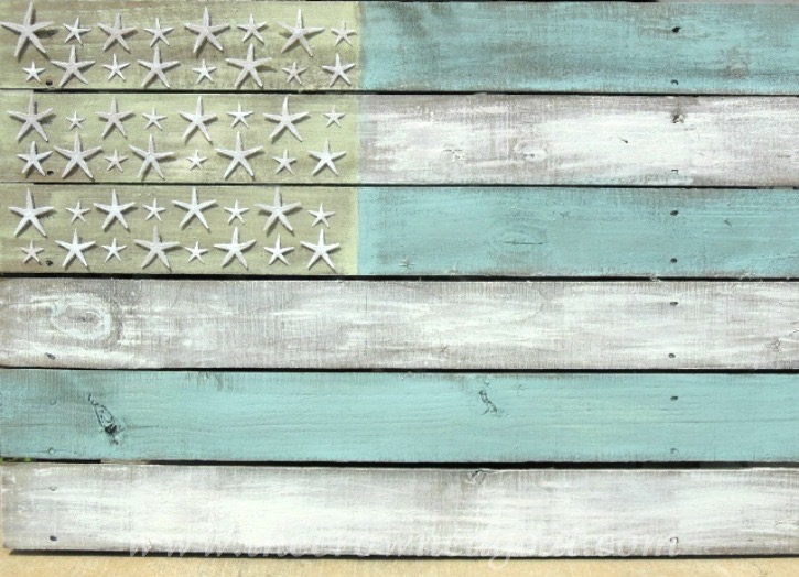 6 Easy to Create Coastal Home Decorating Ideas - The Crowned Goat - 051915-5