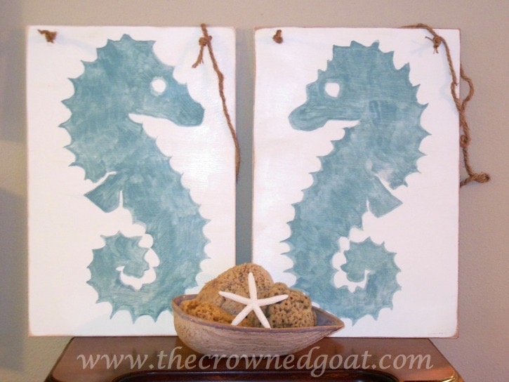 6 Easy to Create Coastal Home Decorating Ideas - The Crowned Goat - 051915-6
