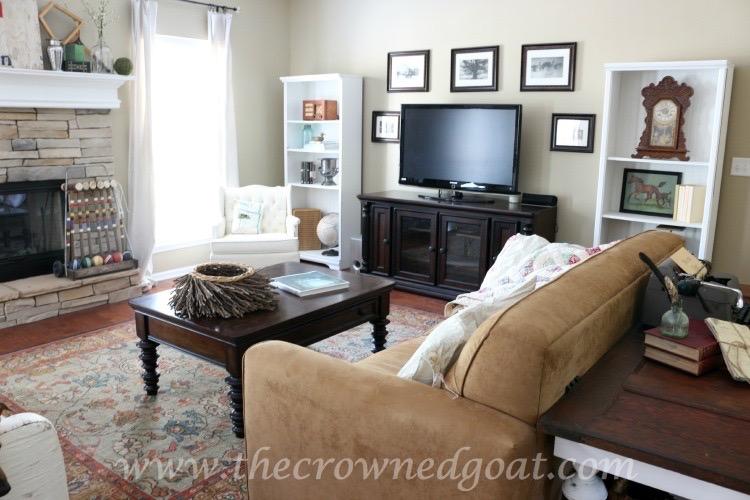 Easy Living Room Updates